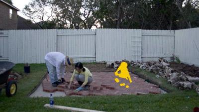 Scenes from Backyard Project