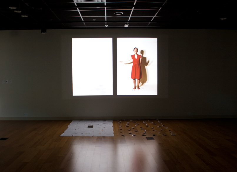 Installation view of Some Aspects of Love at the Ringling College of Arts and Design