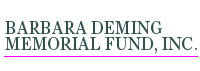 Barbara Deming Memorial Fund, INC logo