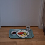 Covid-19, quarantine, meal tray