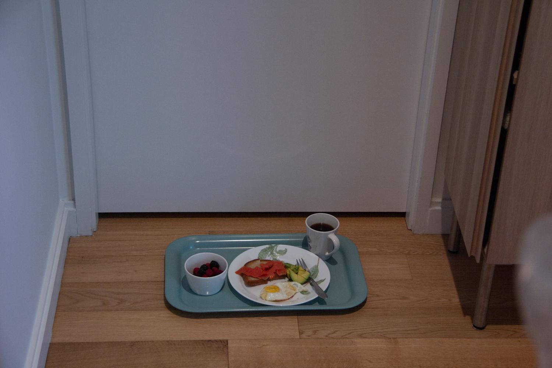 Covid-19, quarantine, meal tray